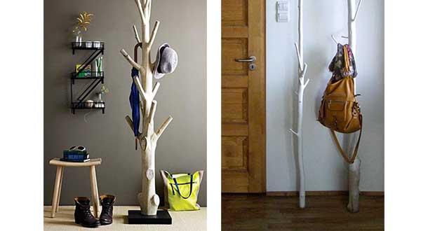 Ajouter un porte manteau mural dans votre entrée